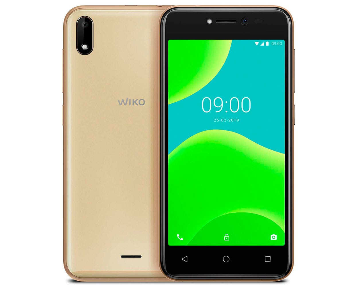 WIKO Y50 DARK GOLD MÓVIL 3G DUAL SIM 5'' TN FWVGA/4CORE/16GB/1GB RAM/5MP/5MP