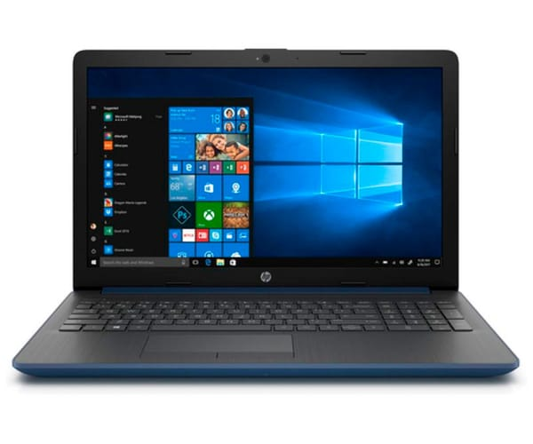 HP 15-DA0056 PORTÁTIL AZUL 15.6'' LCD WLED HD READY/i5 3.4GHz/256GB/8GB RAM/GF MX110/W10 HOME