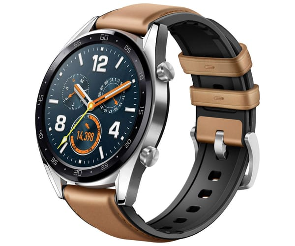 HUAWEI WATCH GT MARRÓN RELOJ SMARTWATCH PANTALLA AMOLED GPS WIFI BLUETOOTH