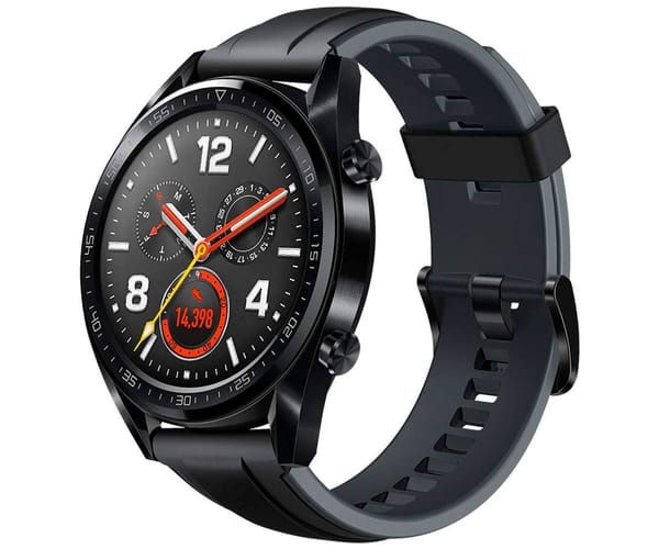HUAWEI WATCH GT NEGRO RELOJ SMARTWATCH PANTALLA AMOLED GPS WIFI BLUETOOTH