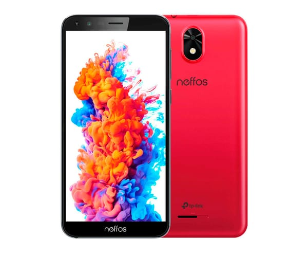 TP-LINK NEFFOS C5 PLUS 16GB ROJO MÓVIL 3G DUAL SIM 5.34'' FWVGA+/4CORE/16GB/1GB RAM/5MP/2MP