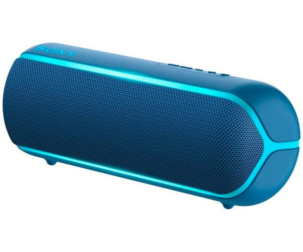 SONY SRS-XB22L AZUL ALTAVOZ INALÁMBRICO NFC BLUETOOTH MANOS LIBRES EXTRA BASS LIVE SOUND IP67