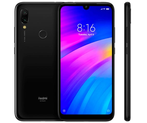 XIAOMI REDMI 7 NEGRO ECLIPSE MÓVIL 4G DUAL SIM 6.26'' HD+/8CORE/64GB/3GB RAM/12MP+2MP/8MP