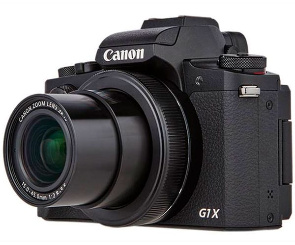 CANON POWERSHOT G1 X MARK III CÁMARA 24.2MP ZOOM 3X DIGIC 7 WI-FI NFC BLUETOOTH