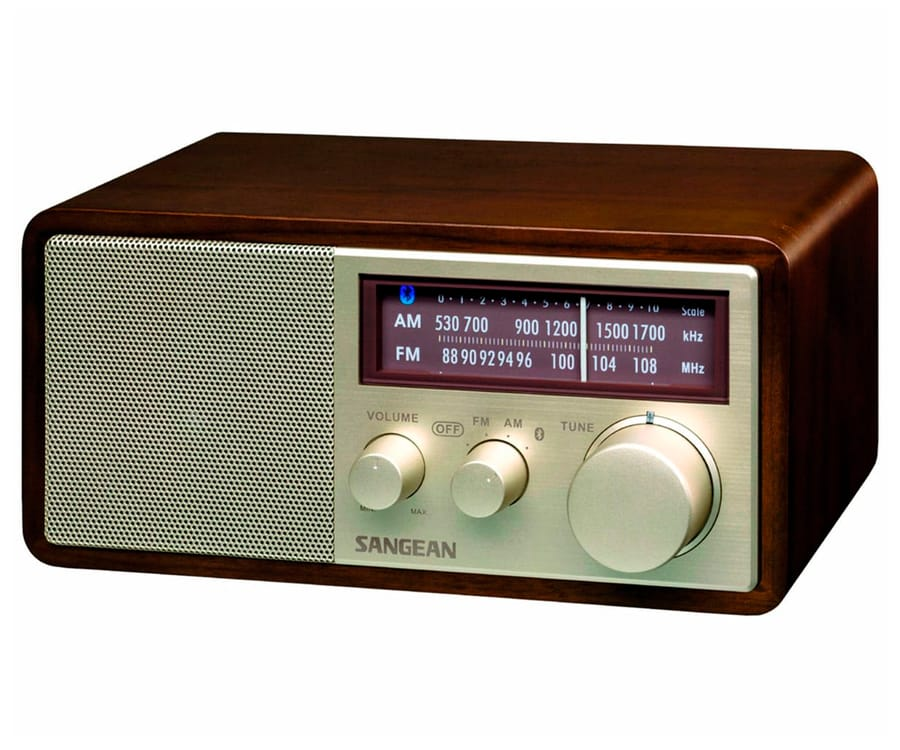 SANGEAN WR-11 BT NUEZ RADIO ANALÓGICA SOBREMESA AM FM BLUETOOTH NFC