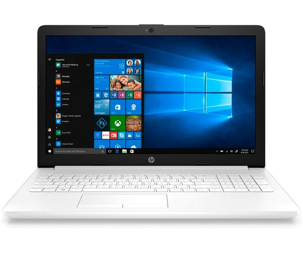 HP 15-DB0061 PORTÁTIL BLANCO 15.6'' LCD WLED HD READY/A9-9425/1TB/8GB RAM/W10 HOME