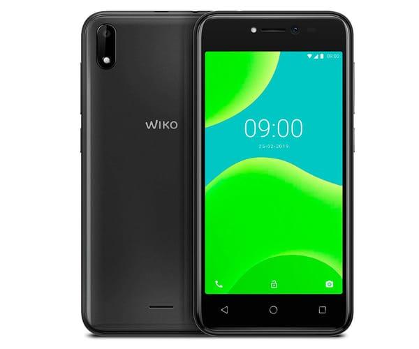 WIKO Y50 DARK GREY MÓVIL 3G DUAL SIM 5'' TN FWVGA/4CORE/16GB/1GB RAM/5MP/5MP