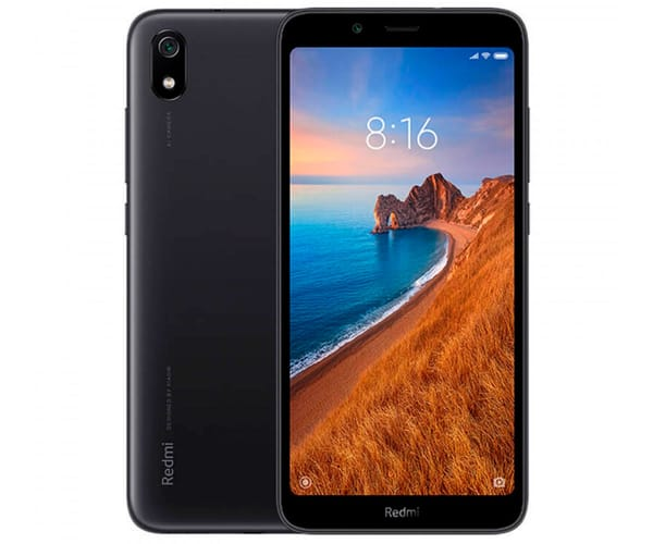 XIAOMI REDMI 7A NEGRO MÓVIL 4G DUAL SIM 5.45'' HD+/8CORE/16GB/2GB RAM/12MP/5MP