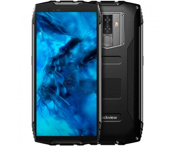 BLACKVIEW BV6800 PRO NEGRO MÓVIL RESISTENTE DUAL SIM 4G 5.7'' IPS FHD/8CORE/64GB/4GB RAM/16MP/8MP