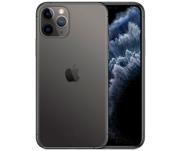 APPLE IPHONE 11 PRO GRIS ESPACIAL MÓVIL DUAL SIM 4G 5.8'' SUPER RETINA XDR CPU A13/512GB/4GB RAM/12+12+12MP/12MP