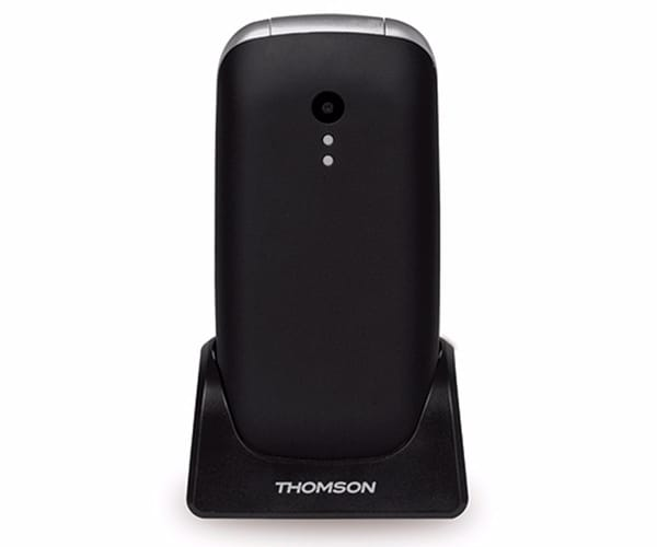 THOMSON SEREA 63 NEGRO MÓVIL SENIOR PLEGABLE 2.4'' TFT BLUETOOTH CÁMARA VGA RADIO FM