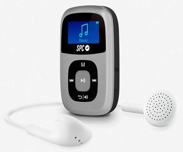 SPC 8644S PLATA REPRODUCTOR MP3 SPARROW 4GB RADIO FM Y GRABADOR DE VOZ