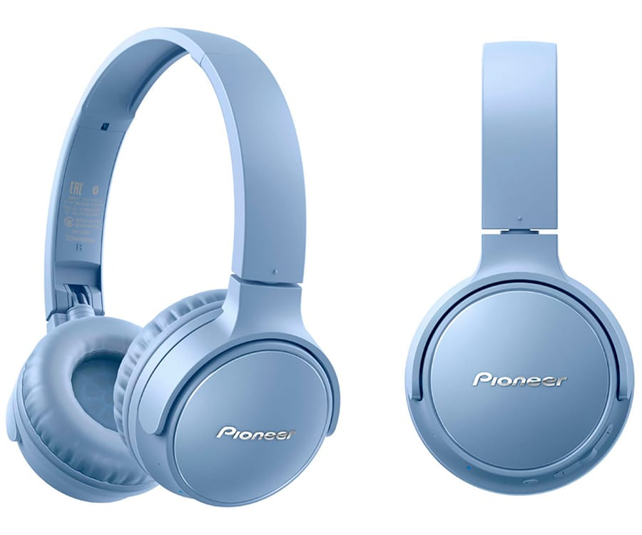 PIONEER SE-S3BT AZUL AURICULARES ON-EAR INALÁMBRICOS S3 WIRELESS MANOS LIBRES