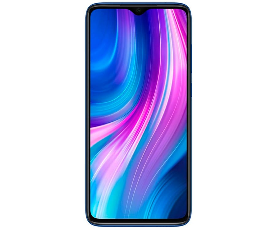 XIAOMI REDMI NOTE 8 PRO AZUL MÓVIL 4G DUAL SIM 6.53'' FHD+ OCTACORE 128GB 6GB RAM QUADCAM 64MP SELFIES 20MP
