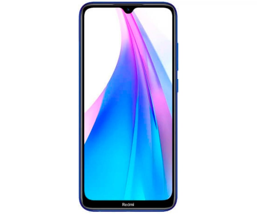 XIAOMI REDMI NOTE 8T AZUL MÓVIL 4G DUAL SIM 6.3'' FHD+ OCTACORE 128GB 4GB RAM QUADCAM 48MP SELFIES 13MP