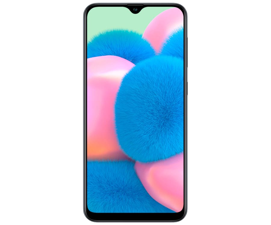 SAMSUNG GALAXY A30s NEGRO MÓVIL 4G DUAL SIM 6.4'' SUPER AMOLED HD+ OCTACORE 128GB 4GB RAM TRICAM 25MP SELFIES 16MP