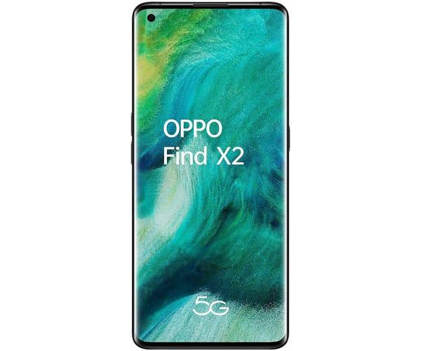 OPPO FIND X2 BLACK CERÁMICO MÓVIL 5G 6.7'' AMOLED 120Hz 3K QHD+ OCTACORE 256GB 12GB RAM TRICAM 48MP SELFIES 32MP