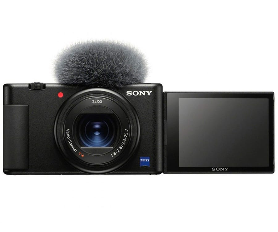 SONY ZV1BDLEU NEGRO CÁMARA ZV-1 PARA VIDEOBLOGS SENSOR CMOS EXMOR RS 20.1MP