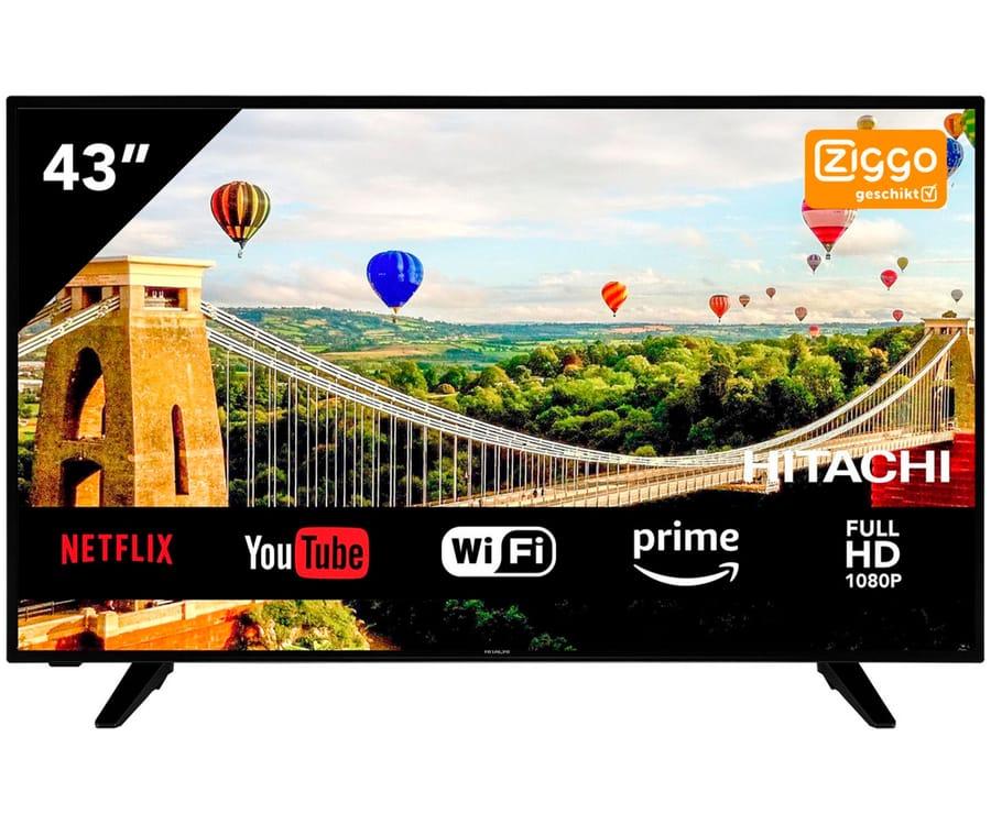 HITACHI 43HE4005 TELEVISOR 43'' LCD LED SMART TV FULLHD 100Hz HDMI VGA USB CI+ WIFI