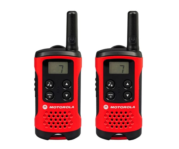 MOTOROLA TLKR T40 PAREJA DE WALKIE TALKIES 4KM