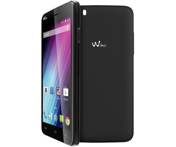 WIKO LENNY2 NEGRO MÓVIL 3G DUAL SIM 5'' IPS/4CORE/8GB/1GB RAM/5MP/2MP