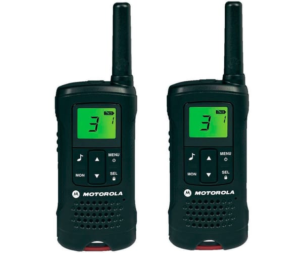 MOTOROLA TLKR T60 WALKIE TALKIES 8KM MANOS LIBRES