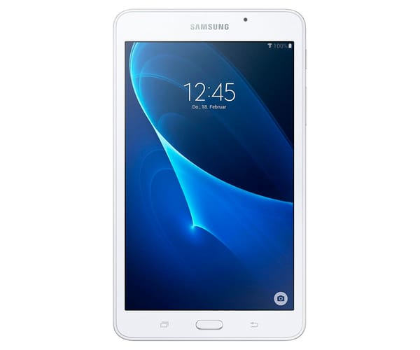 SAMSUNG GALAXY TAB A 7.0 BLANCA SM-T280 TABLET WIFI 7'' IPS/4CORE/8GB/1.5GB RAM/5MP/2MP