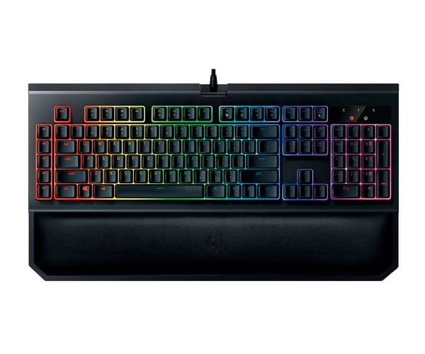 RAZER BLACKWIDOW CHROMA V2 TECLADO RETROILUMINADO PARA GAMING