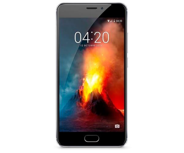 MEIZU M5 NOTE 16GB GRIS MÓVIL DUAL SIM 4G 5.5'' IPS LTPS/8CORE/16GB/3GB RAM/13MP/5MP
