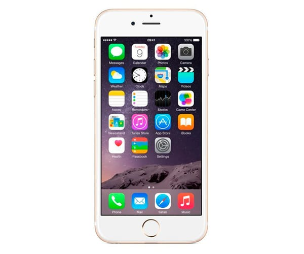 APPLE IPHONE 6 PLUS 128GB ORO REACONDICIONADO CPO MÓVIL 4G 5.5'' RETINA FHD/2CORE/64GB/1GB RAM/8MP/1.2MP