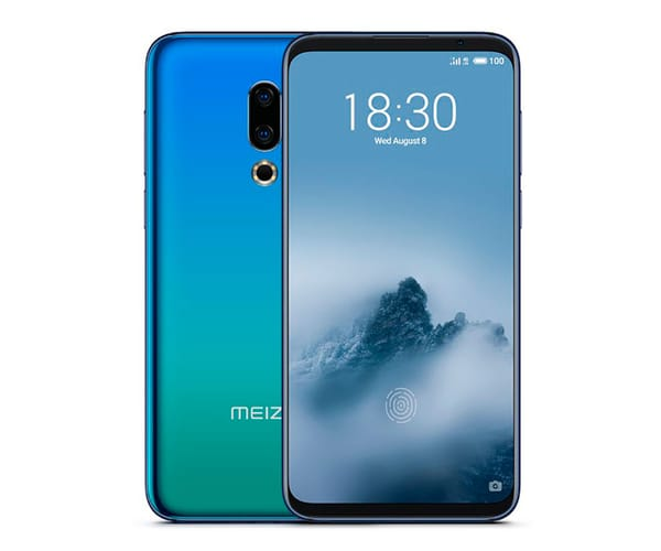 MEIZU M16TH AZUL MÓVIL 4G DUAL SIM 6'' SAMOLED FULL HD+/8CORE/128GB/8GB RAM/20MP+12MP/20MP