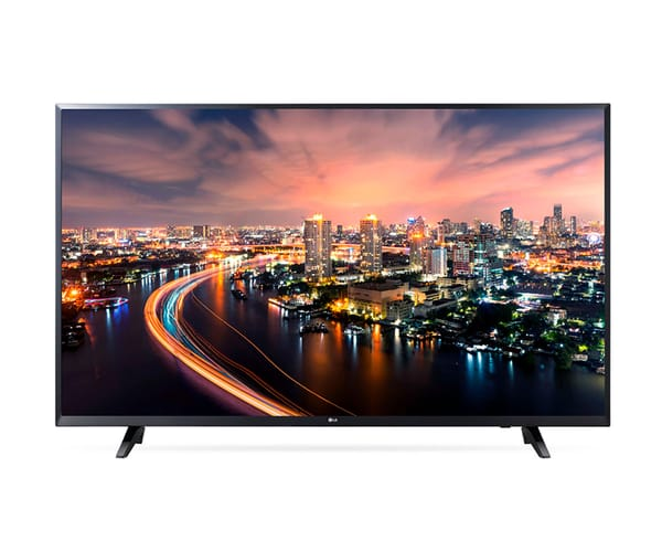 LG 49UJ620V TELEVISOR 49'' IPS LCD DIRECT LED UHD 4K HDR SMART TV WEBOS 3.5 WIFI BLUETOOTH HDMI LAN USB REPRODUCTOR Y GRABADOR MULTIMEDIA