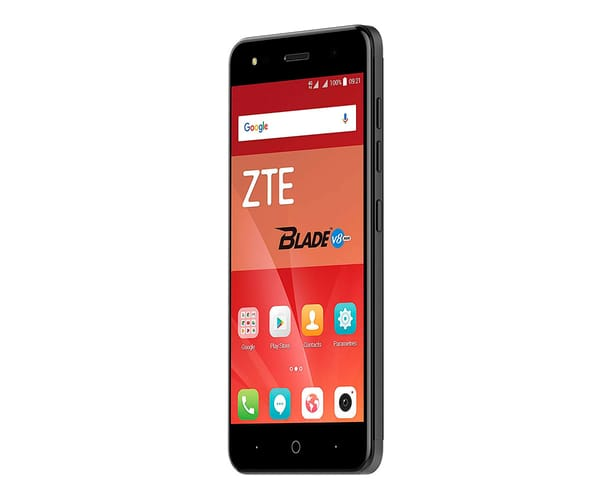 ZTE V8 MINI NEGRO MÓVIL DUAL SIM 4G 5'' IPS HD/8CORE/16GB/2GB RAM/13MP+2MP/5MP