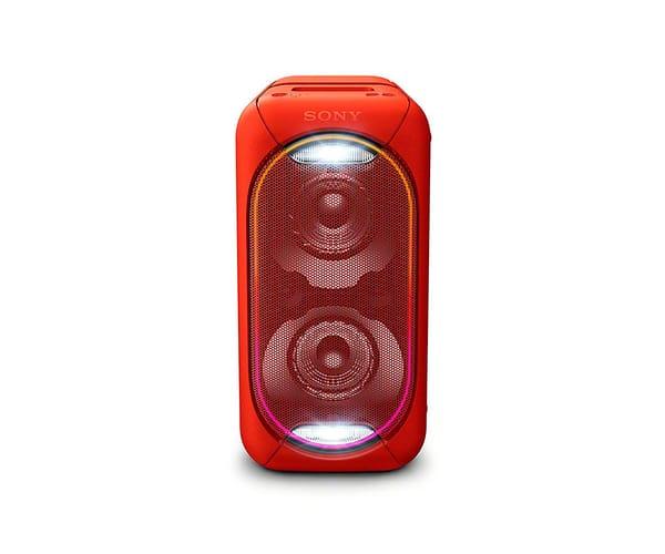 SONY GTK-XB60R ROJO SISTEMA DE AUDIO EN CASA PORTÁTIL DE GRAN POTENCIA CON LUCES LED, BLUETOOTH Y NFC