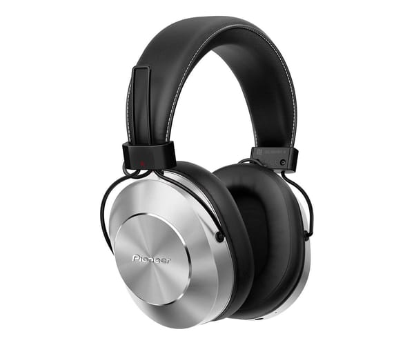 PIONEER SE-MS7BT PLATA AURICULARES INALÁMBRICOS AUDIO DE ALTA CALIDAD CON MICRÓFONO BLUETOOTH NFC POWER BASS