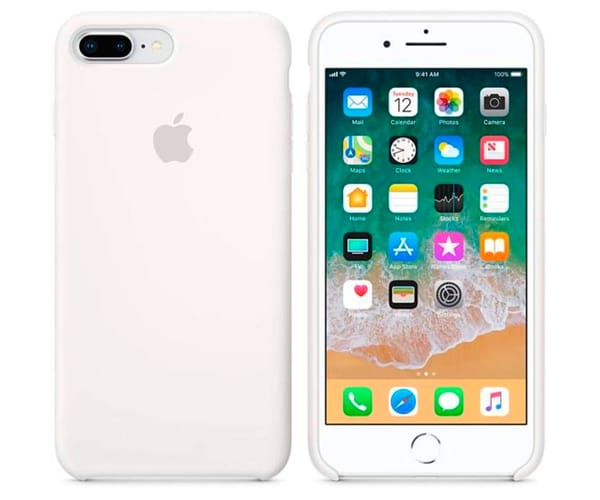 APPLE MQGX2ZM/A BLANCO CARCASA DE SILICONA IPHONE 8 PLUS/7 PLUS