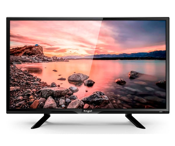 ENGEL 20LE2460T2 TELEVISOR 20'' LCD LED HD READY HDMI VGA USB REPRODUCTOR Y GRABADOR MULTIMEDIA