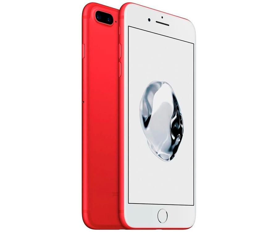 APPLE IPHONE 7 PLUS 128GB ROJO REACONDICIONADO CPO MÓVIL 4G 5.5'' RETINA FHD/4CORE/128GB/3GB RAM/12MP+12MP/7MP