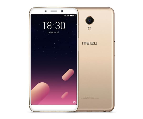 MEIZU M6S DORADO MÓVIL 4G DUAL SIM 5.7'' IPS HD+/6CORE/32GB/3GB RAM/16MP/8MP