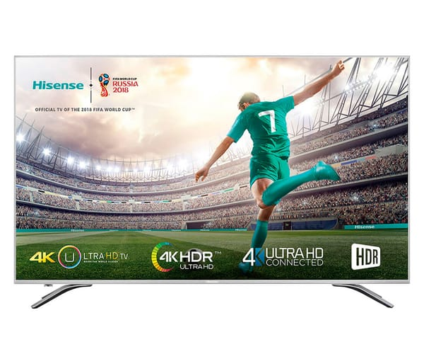 HISENSE H43A6500 TELEVISOR 43'' LCD DIRECT LED UHD 4K HDR 1500Hz SMART TV WIFI
