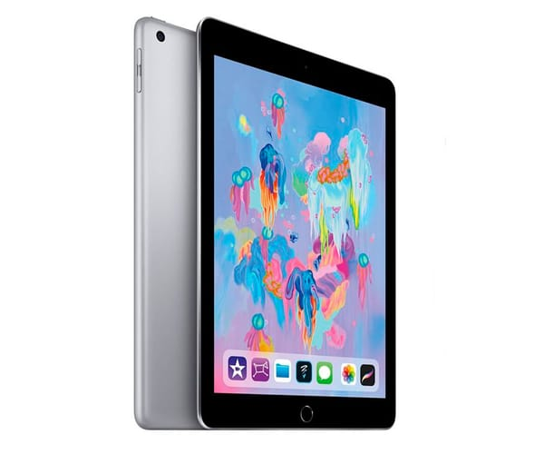 APPLE IPAD (2018) 128GB WIFI GRIS ESPACIAL TABLET WIFI 9.7'' RETINA/128GB/2GB RAM/8MP/1.2MP