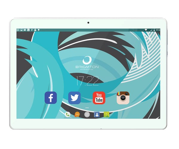 BRIGMTON BTPC-1023OC4G BLANCO TABLET 4G DUAL SIM 10'' IPS FHD+/8CORE/32GB/2GB RAM/5MP/2MP
