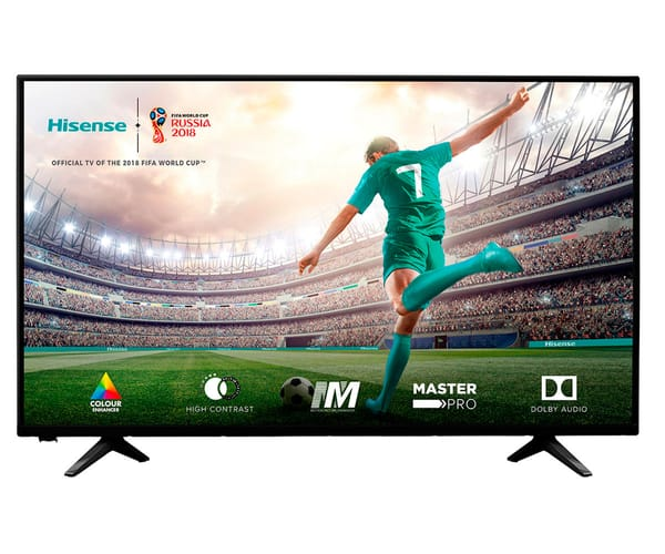 HISENSE H43A5100 TELEVISOR 43'' LCD DIRECT LED FULL HD HDMI USB REPRODUCTOR MULTIMEDIA
