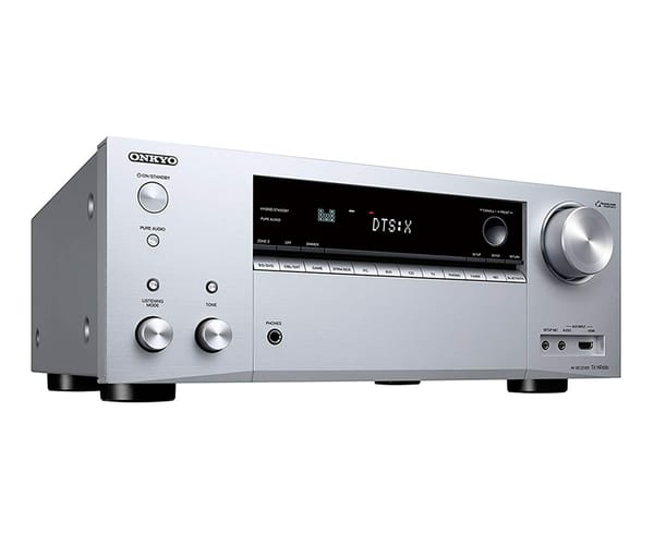 ONKYO TX-NR686 PLATA RECEPTOR A/V DE RED DE 7.2 CANALES COMPATIBLE DOLBY ATMOS 4K HDR DOLBY VISON 165W POR CANAL