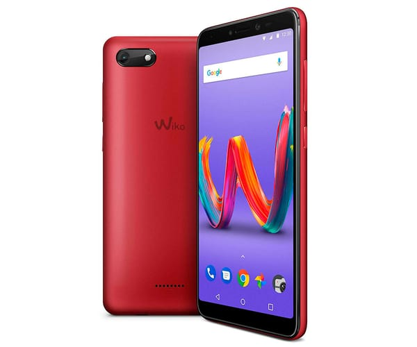 WIKO HARRY2 ROJO CEREZA MÓVIL 4G DUAL SIM 5.45'' IPS HD+/4CORE/16GB/2GB RAM/13MP/5MP