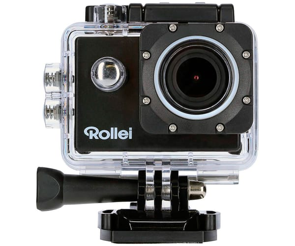 ROLLEI ACTIONCAM 540 CÁMARA DE ACCIÓN VÍDEOS EN UHD 4K 30FPS 16MP WIFI INTEGRADO GRAN ANGULAR 147º