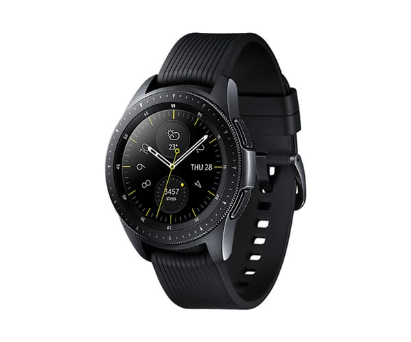 SAMSUNG FITNESS SM-R810 GALAXY WATCH 42MM NEGRO RELOJ SMARTWATCH PANTALLA sAMOLED GPS BLUETOOTH