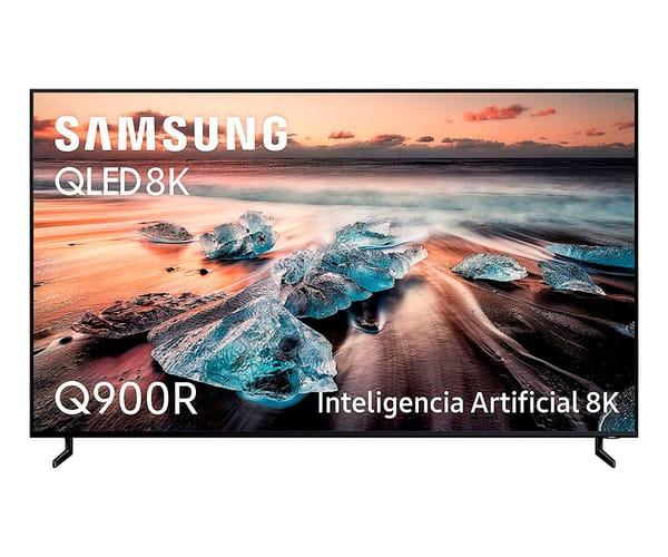 SAMSUNG QE75Q900RATXXC TELEVISOR 75'' QLED 8K 2019 DIRECT FULL ARRAY ELITE SMART TV WIFI BLUETOOTH AMBIENT MODE