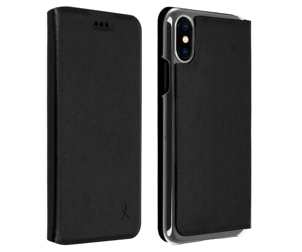 AKASHI FUNDA LIBRO NEGRO APPLE IPHONE XS MAX