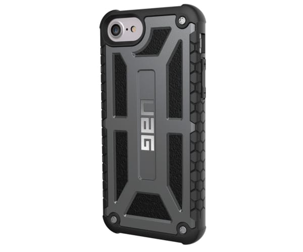 URBAN ARMOR GEAR MONARCH GRAPHITE CARCASA IPHONE 8 / 7 / 6S / 6 RESISTENTE